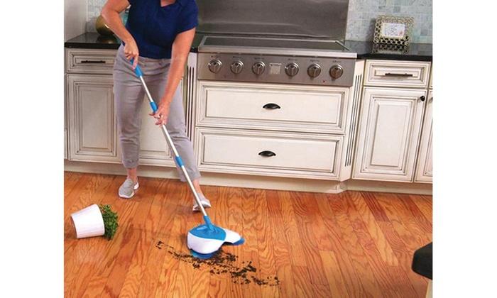 Spin Broom Hurricane Floor Sweeper Groupon