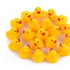 10 Pcs Kawaii Baby Floating Squeaky Rubber Ducks Kids