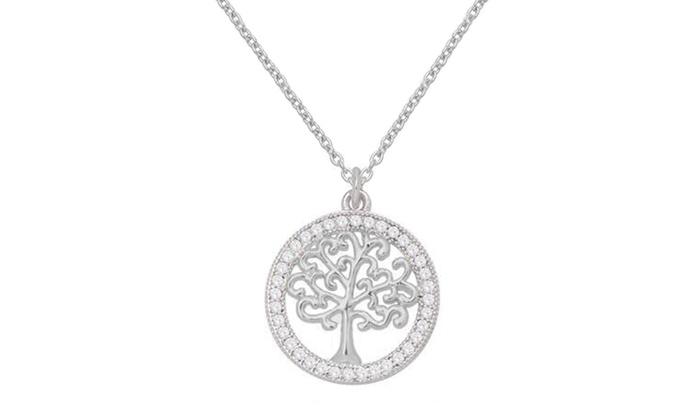 1f8c5728ec2c9 Tree Of Life Pendant Necklace Made With Swarovski Elements