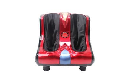 Smart Foot Calf Leg Massager Shiatsu Kneading Vibration Rolling Was: $260 Now: $119.99.