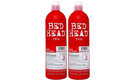TIGI Bed Head Resurrection Shampoo/Conditioner (25.36 Oz) Duo Set, Brand New
