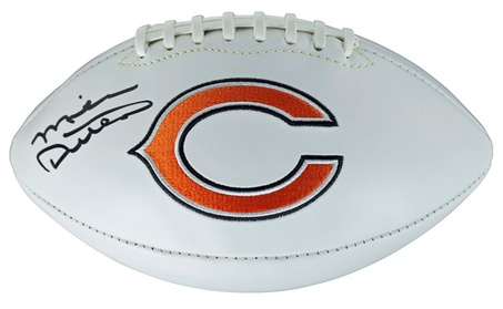 Bears Mike Ditka Authentic Signed Logo Football w/ PSA/DNA COA 5977df0f-d774-4ade-90f3-db1ae2b18159