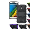 Heavy Duty Armor Stand Protective Case For Motorola Droid Turbo 2