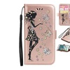 Leather Flip Protective butterfly Cover Case for IPhone 7