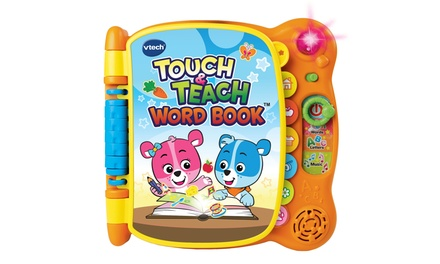 Up To 16 Off On Vtech Touch Teach Word Book Groupon Goods