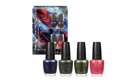 Opi Nail Polish- The Amazing Spider-Man 4 Mini Polishes ea17eaf0-02f4-41cb-a338-1b7a13e48b2a