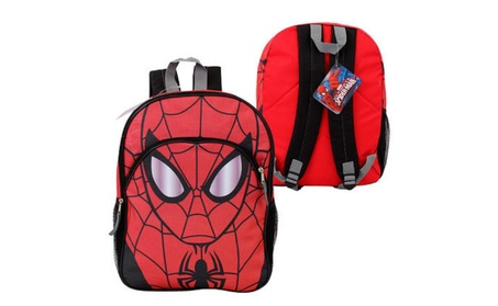 "Marvel Spider-Man Backpack with Front Pocket- 16""H bc71f0c8-055f-40f9-8301-595db4fbf4e1"