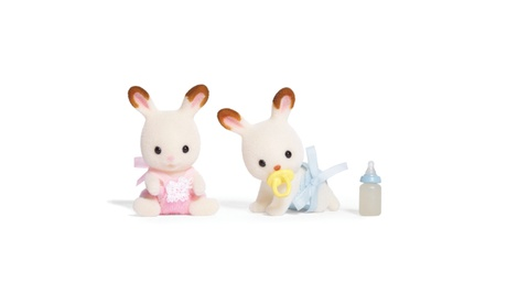 International Playthings - Calico Critters - Hopscotch Rabbit Twins 0f805e55-1edf-4e55-9cfc-19fe9d1b6dfc