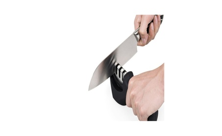 Knife Sharpening Tool Helps Repair, Restore and Polish Blades photo