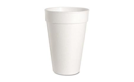 Genuine Joe GJO58554 Foam Cups- 16 oz- 500-CT- White 3d590259-3b46-46a7-b4cc-741908d7c1da