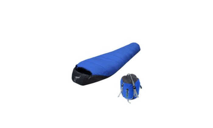 LautenBro: Mummy Shaped Sleeping Bag Camping -10℃~10℃ Hiking Traveling W/Carrying