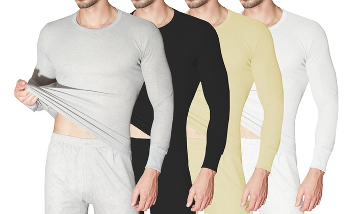 Long johns, long underwear, men's wear, unisex, fall fashion, underwear, waffle long johns, long johns, thermal underwear