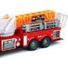 Top Rank Fire Trailer Friction Toy Truck RTR w/ 360 Degree Rotating Crane