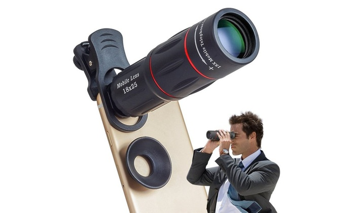 Up to 33% off on apexel 18x zoom cell phone lens groupon goods