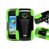 Insten Hard Hybrid Case For Zte Prelude2 Z667/zinger Z667t Black/green