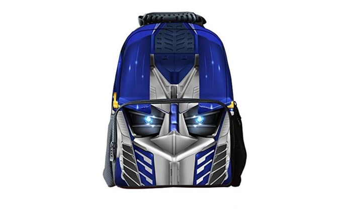 CleverTom Mask Man Unisex Children's 3D Print Kids School Backpacks - C1 / Normal