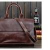 Men Shoulder Bag Commercial Messenger Bag Casual Cowhide Tote