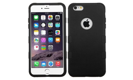 Tuff Hybrid Hard Silicone Case Cover For iPhone 6 Plus and 6s Plus...