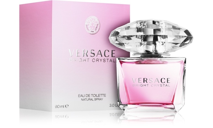 Versace 3 90 Oz For Women Crystal Ml Edt Bright YeWE9I2DH