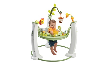 Evenflo ExerSaucer Jump & Learn Stationary Jumper, Safari Friends cc5b6da5-69ba-4dd3-8f4a-394e32ccca0e