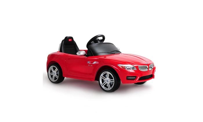 Bmw Z4 Licensed 6v Electric Kids Ride On Car Rc Remote Control Mp3