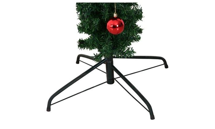 Cactus Christmas Tree.6ft Pre Lit Artificial Cactus Christmas Tree W Led Lights