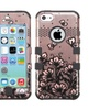 Insten Lace Butterfly 2 Layer Hybrid Shockproof Case For Iphone 5c