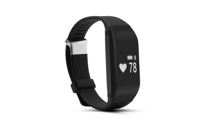 Heart Rate Monitor Touch Button Bluetooth4.0Waterpro of Smart Bracelet