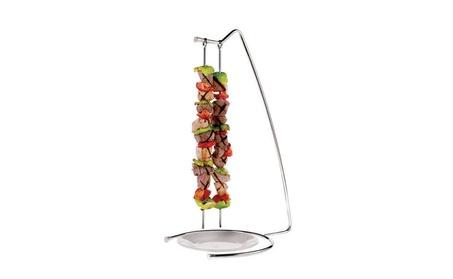 Paderno World Cuisine 42417-22 S/Steel 4-Skewer Stand, ae0eba37-212c-441b-82f1-176c08bd85d4