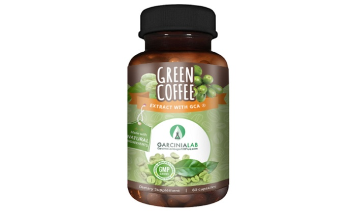 Green Coffee Bean Extract 100% Pure Weight Loss Supplement ...