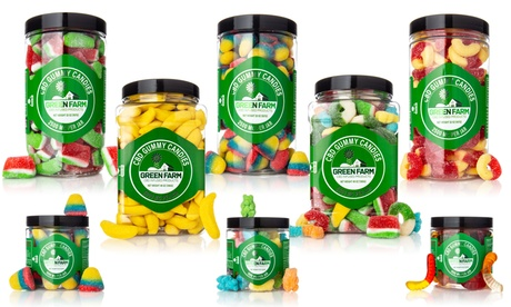 Tasty Gummy Candy Infused with Organic CBD from Green Farm (500MG - 5000MG)