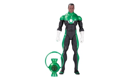 DC Comics Icons: Green Lantern John Stewart Mosaic Action Figure Toy a3337809-b280-43ed-baf3-70701542195d