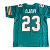 Autographed Jay Ajayi Miami Dolphins Custom Jersey Teal FHS130