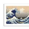 Katsushika Hokusai 'The Great Kanagawa Wave' Canvas Rolled Art