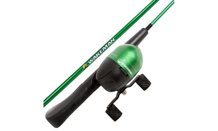 Fishing Rod and Reel Combo w/ Tackle Set, Spincast Fishing Pole, Great for Kids
