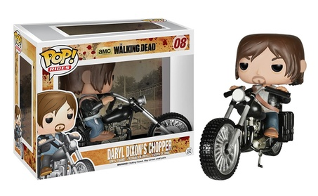 Funko POP Rides: Walking Dead Daryl Dixon Bike Chopper Action Figure 2a6e5e77-faf2-4ecf-a4e0-5e19c8a5363e