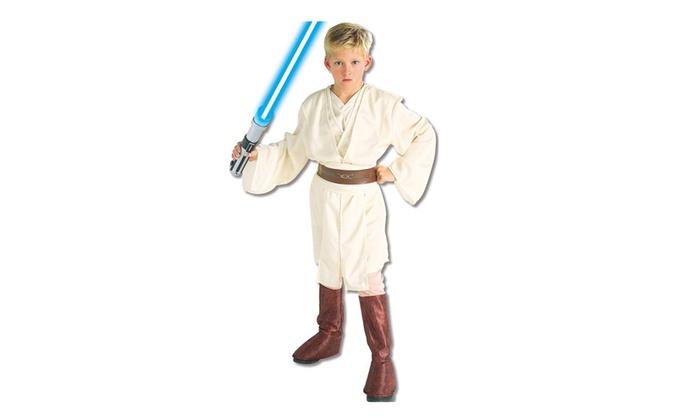 Rubies Costume Co 18790 Star Wars Obi-Wan Deluxe Child Costume  sc 1 st  Groupon & Rubies Costume Co 18790 Star Wars Obi-Wan Deluxe Child Costume | Groupon