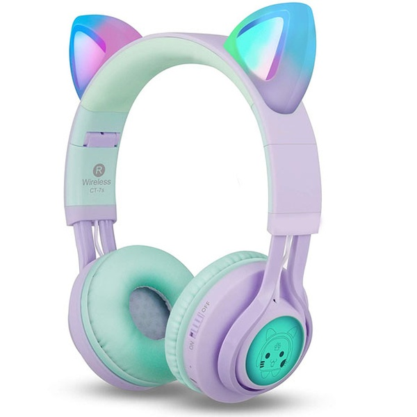 Ear Bluetooth Headphones Kids Wireless Headphones Over Ear With Microphone Groupon