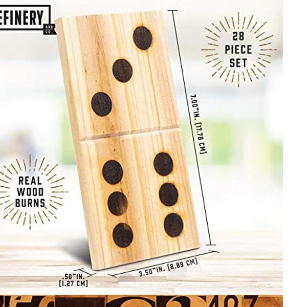 4 Solid Wood Domino Racks