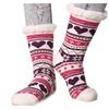 Tell Sell  Women's Snowflake Fleece Lining Knit Knee Highs Stockings