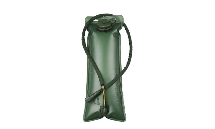 2.5L Water Bag Portable Outdoor Camping Hiking Water Bottle