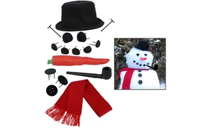 Evelots Snowman Kit (16-Piece)