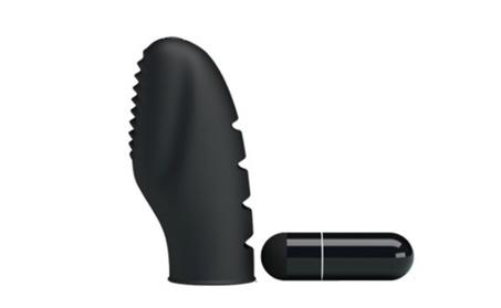 Black Waterproof Silicone Finger Mini Bullet G Spot Clit Vibrator Toy 978ea8db-cc90-429b-b71e-478dda001769