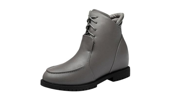 Women's  Ladies Simple Casual Marten Boots Shoes