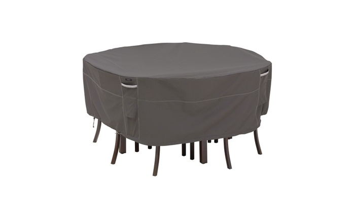 Classic Accessories Ravenna Patio Table & Chair Cover Round