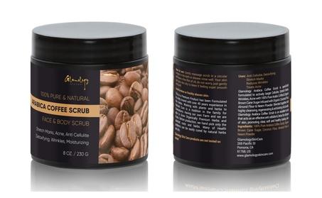 Glamology Pure Arabica Coffee Scrub, Organic Anti Cellulite Body Scrub 612f7a43-5435-4fef-af59-f6049f3251c8