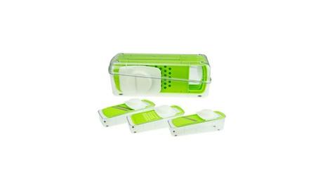 Super 5pcs Slicer Plus Vegetable Fruit Peeler Dicer Cutter Chopper b2b336e5-953a-4fac-833f-5defef9818b7
