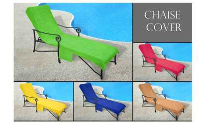 Patio furniture deals coupons groupon for Chaise lounge cover towel
