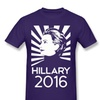 Jacted Up Tees Hillary For President 2016 MensT-shirt Purple
