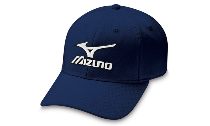 31e6404d85e80 Mizuno Tour Fitted Hat Navy